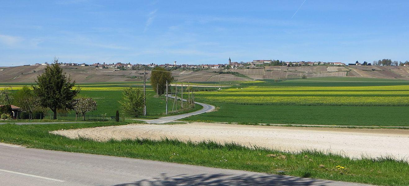 Vue générale du bourg