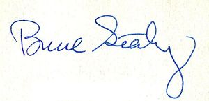 Bruce Sterling - Image: Bruce Sterling signature