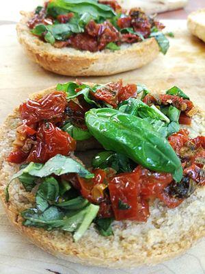 Cuisine of Abruzzo - Image: Bruschetta