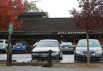Buck's of Woodside - Image: Buck's Restaurant in Woodside, CA