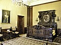 Bucuresti, Romania. MUZEUL NATIONAL COTROCENI. The Bedroom of Queen Elizabeth. (B-II-a-A-19152) (4).jpg