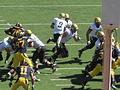 Buffaloes on offense at Colorado at Cal 2010-09-11 53.JPG