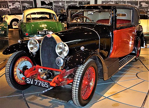 Bugatti Type 44 Drophead Coupe - Hellenic Motor Museum