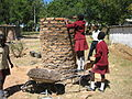 Building of a brick toilet structure in Chisungu school (5567849160).jpg
