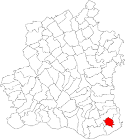 Location of Bujoru