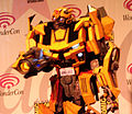 Bumblebee cosplayer at WonderCon 2010 Masquerade 2.JPG
