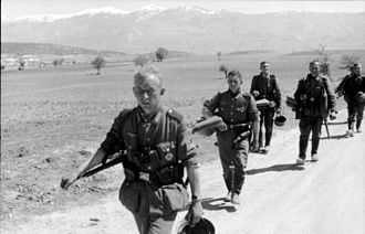 German Army (Wehrmacht) - German soldiers in Greece, April 1941