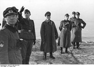 Barneville-Carteret - General Rommel at Carteret in 1944