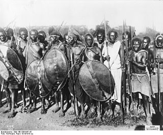 East African tribal militia