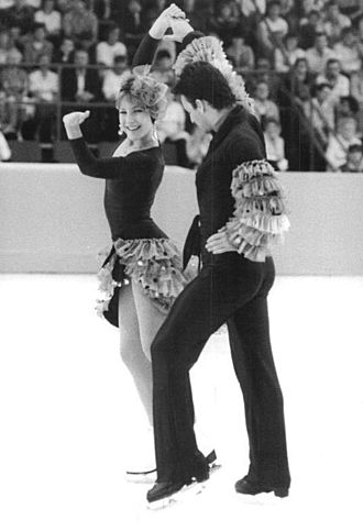 Tracy Wilson - Tracy Wilson and Robert McCall in 1985