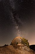 Bunker under the Milky Way.jpg