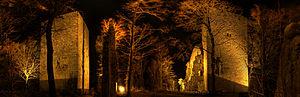 Windeck Castle (Bühl) - Windeck Castle at night