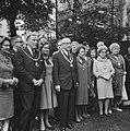 Burgemeester Samkalden ontvangt veertien burgemeesters uit Engeland. Hier in de , Bestanddeelnr 920-7554.jpg