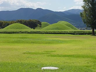 History of Gyeongju - Burial mounds of the Silla kings