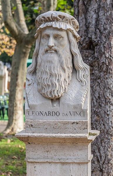 File:Bust of Leonardo da Vinci.jpg