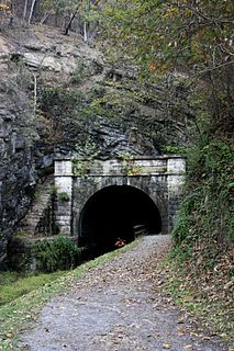 Paw Paw Tunnel tunnel in Allegany County, Maryland