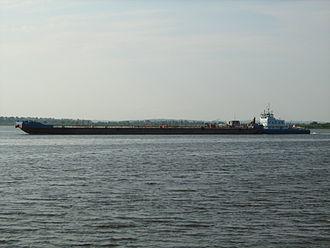 Volgotanker - A Volgotanker barge
