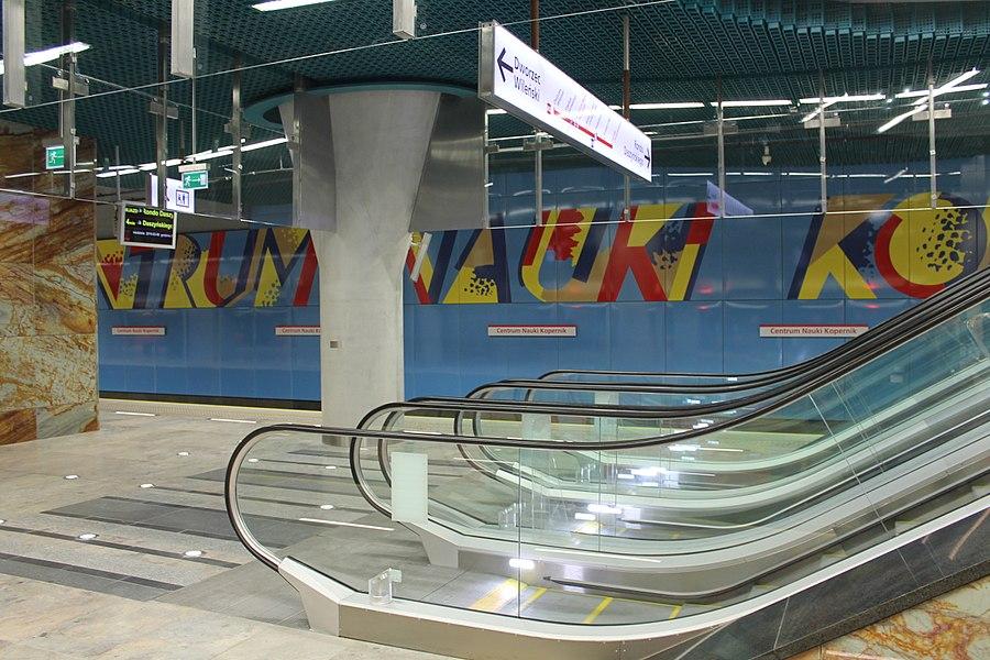 Centrum Nauki Kopernik metro station