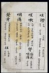 C14 Chinese medication chart; Vomiting, coughing etc. Wellcome L0039610.jpg