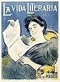 CASAS CARBÓ, Ramón. La vida literaria, Madrid, c. 1899.jpg