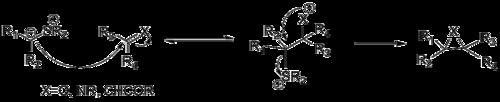 Mechanismus der Johnson–Corey–Chaykovsky Reaction