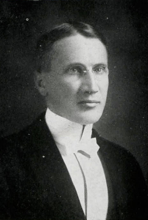 Charles Tambling - Tambling pictured in Chippewa 1919, Central Michigan yearbook