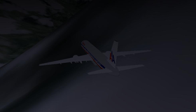 CGI of N651AA before impact.png