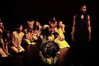 """Cole Harbour District High School - Cole Harbour District High School performing """"Dance of the Robe"""" from Aida."""