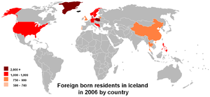 Demographics of Iceland - Citizenship of Iceland residents.