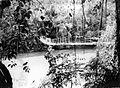 COLLECTIE TROPENMUSEUM Een hangbrug over de rivier Moesi in het gedeelte tussen Kepahiang en Talangpadang in Zuid-Sumatra TMnr 10007593.jpg