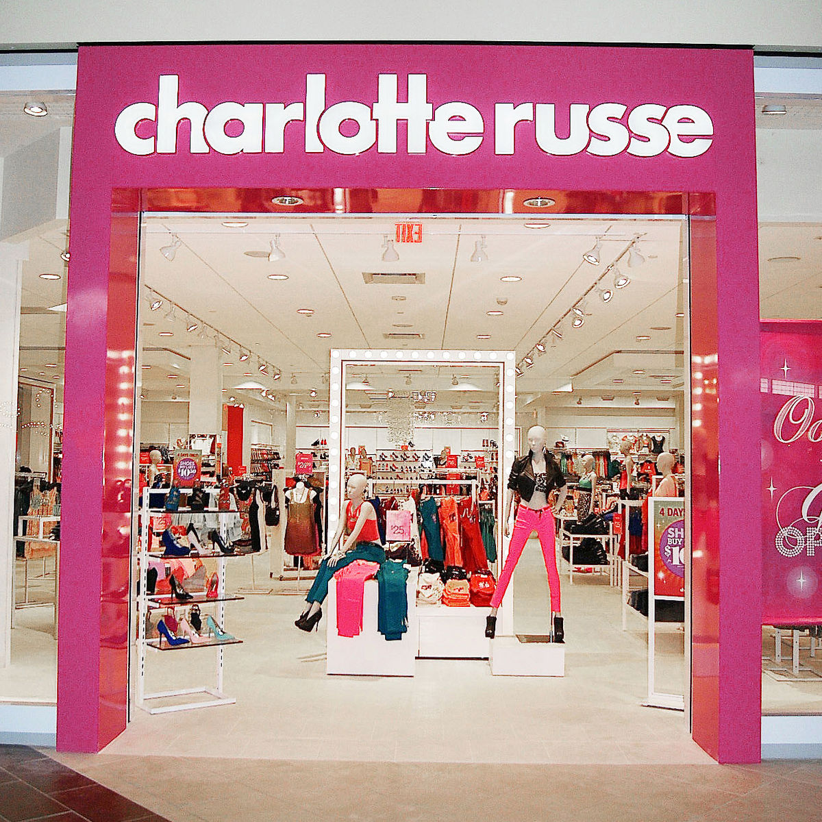 Quality trendy clothing at value prices is the goal of this Southern California-based store. Established in , Charlotte Russe has since expanded to more than mall stores nationwide and an ample online store at rislutharacon.ga