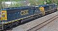 CSX Transportation - 3001 & 4033 diesel locomotives (Marion, Ohio, USA) (43225131971).jpg