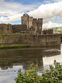 Caerphilly Castle in Summer 02.jpg