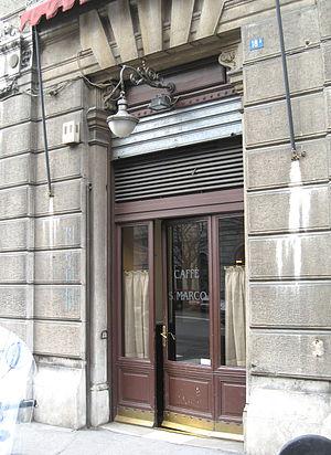 Caffè San Marco - Entrance of Caffè San Marco