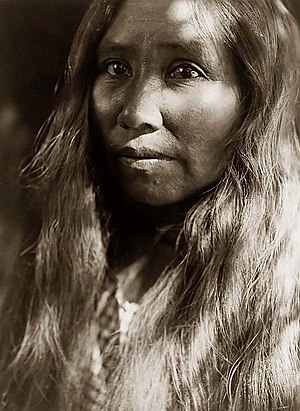 Cahto - Image: Cahto woman curtis