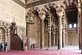 Cairo, cittadella, moschea di an-nasr mohammed, 1318-1335, minbar, 01.JPG