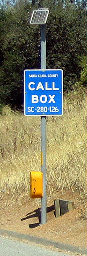 Callbox - Call box in California.