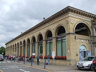 Cambridge railway station Railway station in Cambridge, England