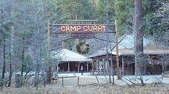 Curry Village, California - Half Dome Village, Yosemite National Park