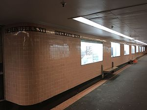 Degraves Street, Melbourne - Campbell Arcade underpass from Flinders Street Station to Degraves Street with signature pink tiles