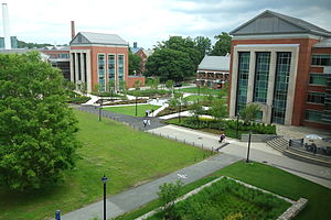 University of Connecticut - Main quad
