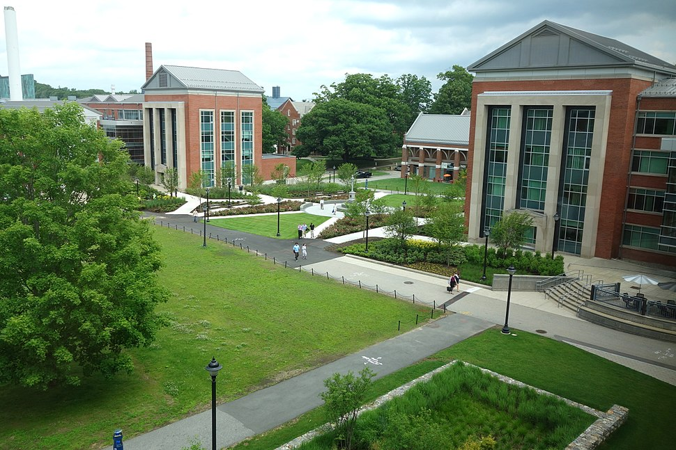 Campus view - University of Connecticut - DSC09948