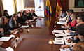 Canciller Patiño recibe a Ministra de Asuntos Exteriores y de Cooperación del Reino de España, Trinidad Jiménez (5165131430).jpg