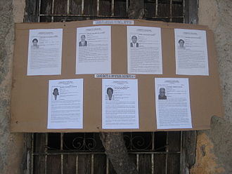 Elections in Cuba - Candidates of the 2008 elections of the national and provincial parliaments in Santiago de Cuba
