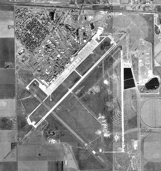 Cannon Air Force Base - 3 March 1997 USGS Orthophoto