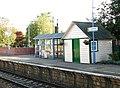 Cantley station - waiting shelter on platform 1 - geograph.org.uk - 1520970.jpg
