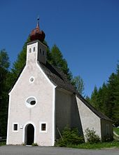 La cappella al lupo (Wolfenkapelle)