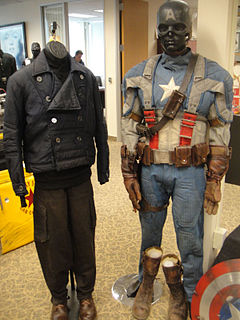 Captain America Prop Auction - Bucky and Captain America costumes (7034403425).jpg
