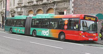 Transport in Wales - Cardiff Bus in Cardiff
