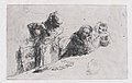 Cardplayers- three men, two seated one standing before a spread of cards on a table MET DP876113.jpg